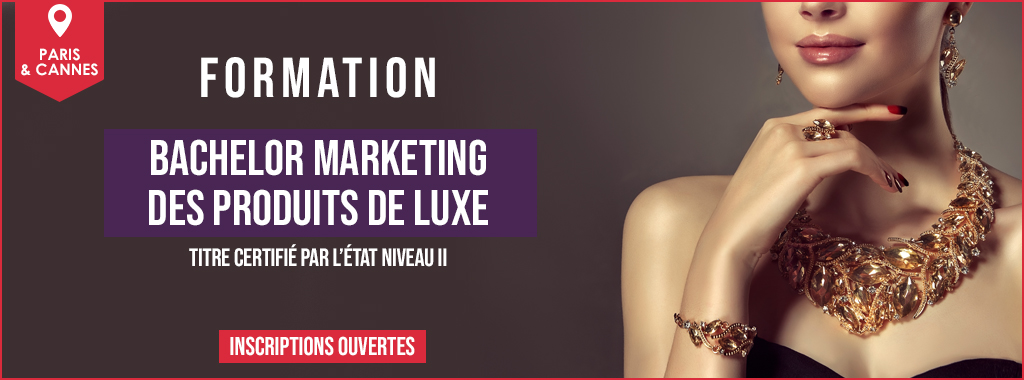 BANNIERE BACHELOR MARKETING DES PRODUITS DE LUXE HOME